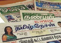 IRS Q2 2011: Top 10 dailies in Tamil Nadu