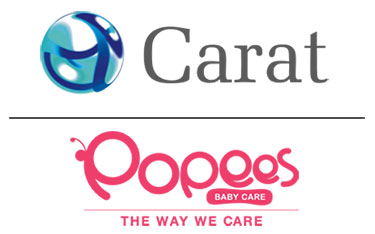 Carat bags media duties of Popees Baby Care